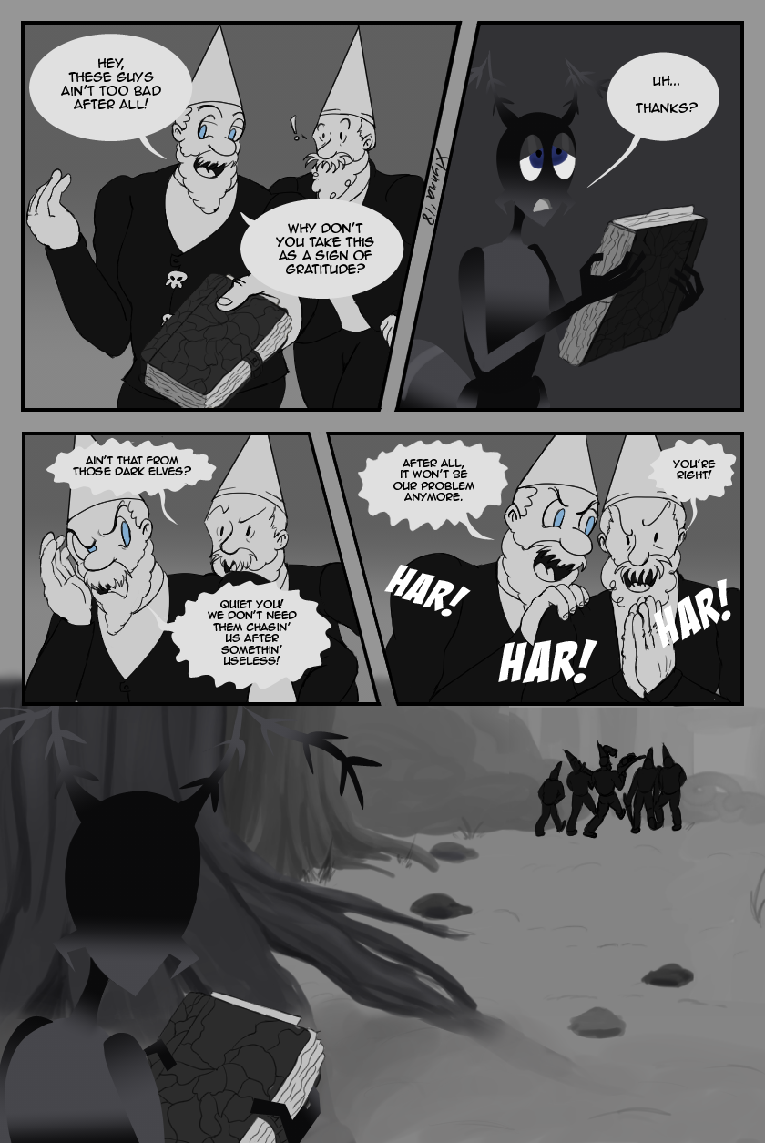 A Split Situation, Page 22