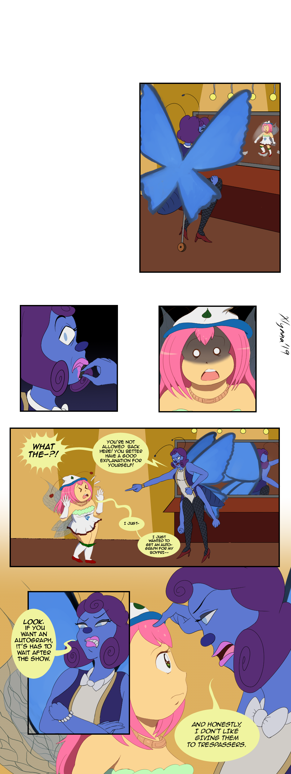A Chance of Fate, Page 6 Part 2